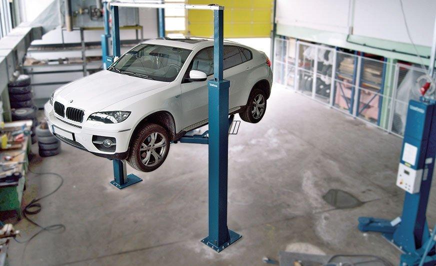 Unoszenie pojazdów – wykonuj prace warsztatowe optymalnie