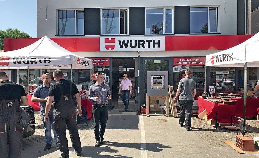 Nowe usługi dla warsztatów – Dni otwarte Würth Polska
