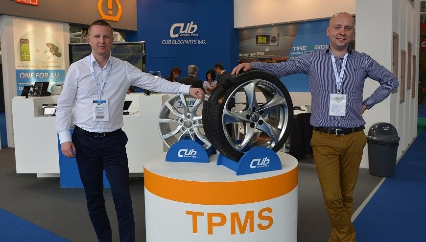 FELGEO.PL zaprasza na stoisko CUB TPMS na targach Automechanika Frankfurt 2018