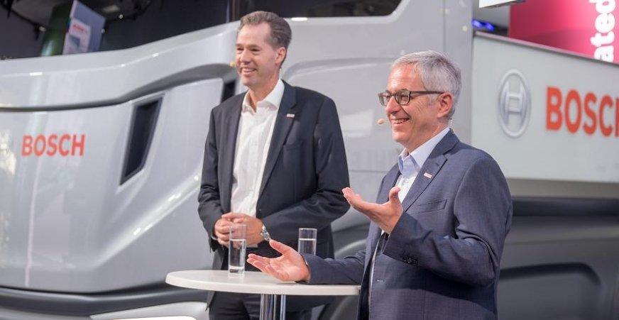 Bosch na IAA 2018: samochody użytkowe źródłem sukcesu
