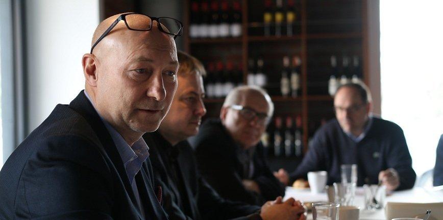 Alfred Franke, prezes SDCM. fot. Piotr Łukaszewicz