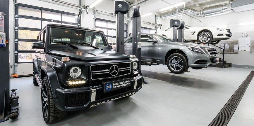 Nowy autoryzowany serwis Mercedes-Benz w Warszawie