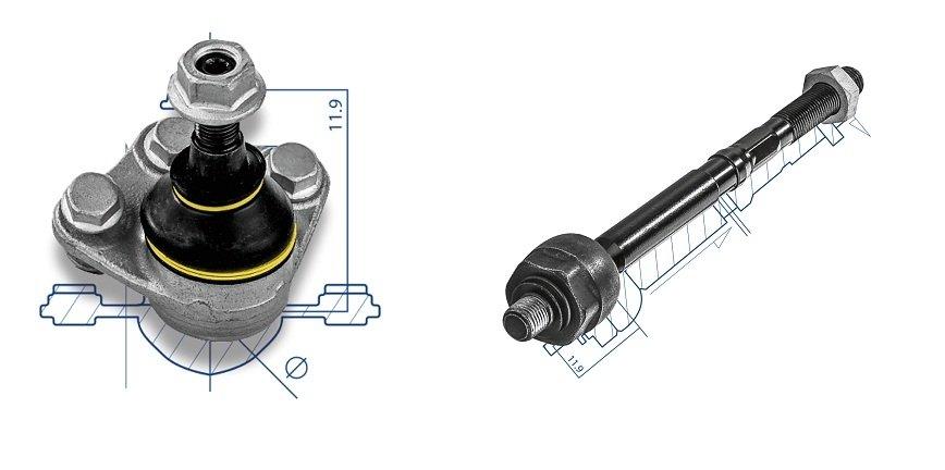 Nowa technologia w produkcji części do układu kierowniczego i zawieszenia