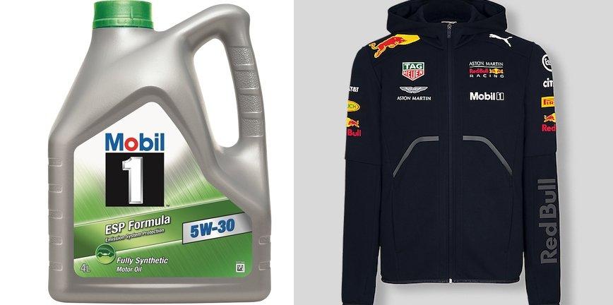 [KONKURS] Mobil 1 i warsztat.pl - do wygrania oleje i bluza F1 Red Bull Racing!