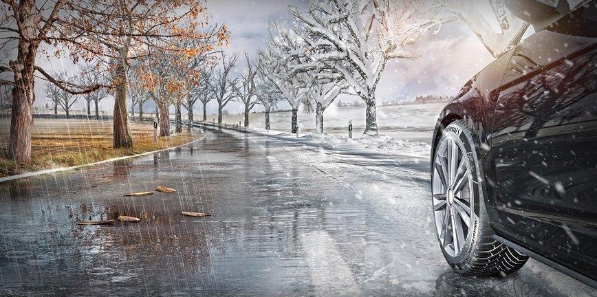 94% polskich kierowców zmienia opony na zimowe