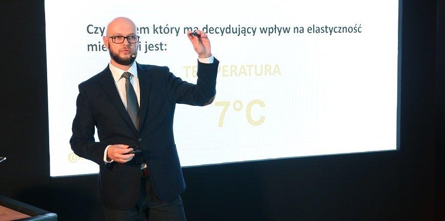 Łukasz Kusiak, product manager w Continental Opony Polska.
