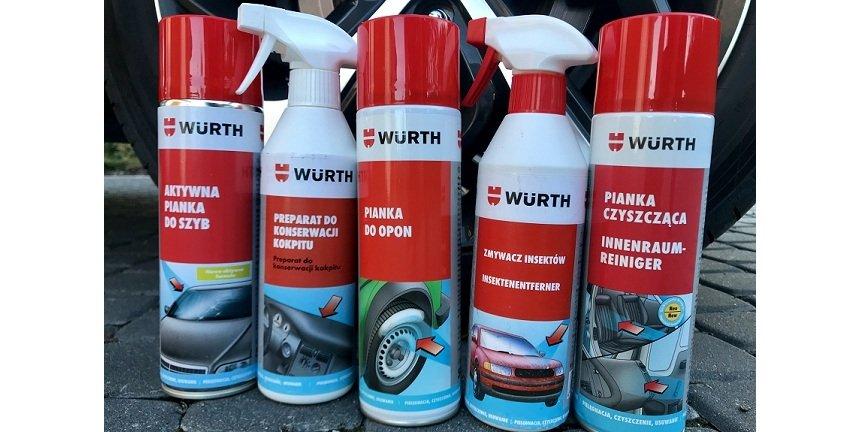 Auto detailing? Testowaliśmy produkty Würth Polska