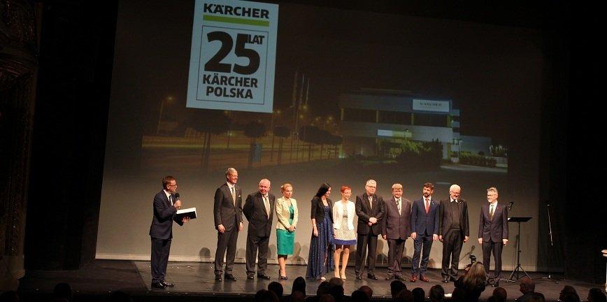 Jubileusz 25 lat Kärcher w Polsce