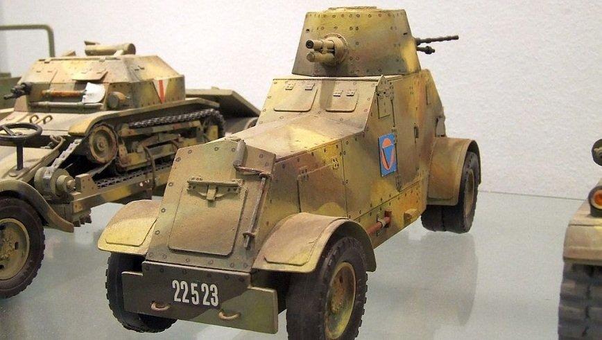 Samochód pancerny wz. 29 produkcji CWS
