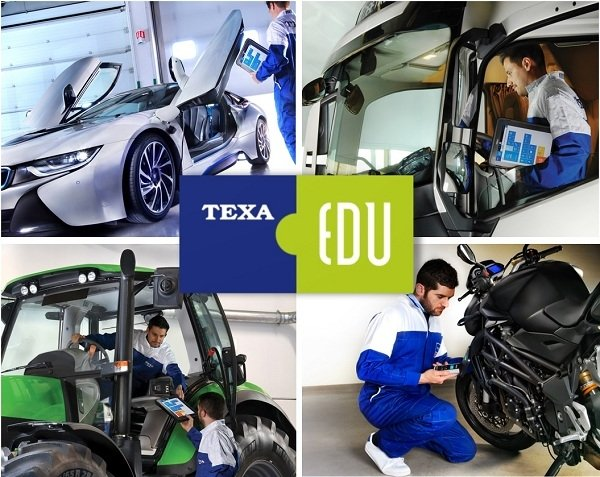 Nowości w programie szkoleniowym TEXA EDU