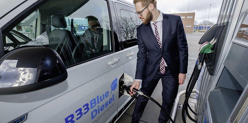 Nowe paliwo R33 BlueDiesel z komponentem ze źródeł odnawialnych