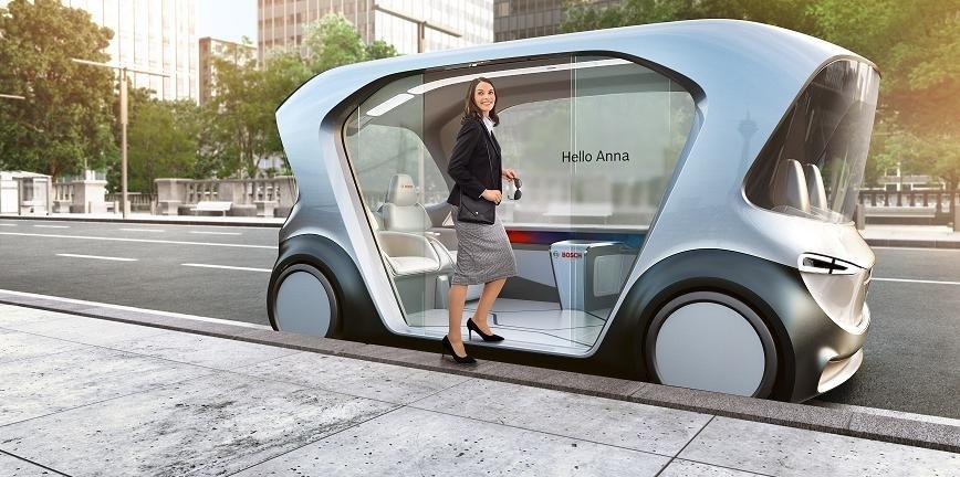 Takie auta będziemy serwisować! Światowa premiera samochodu koncepcyjnego Bosch