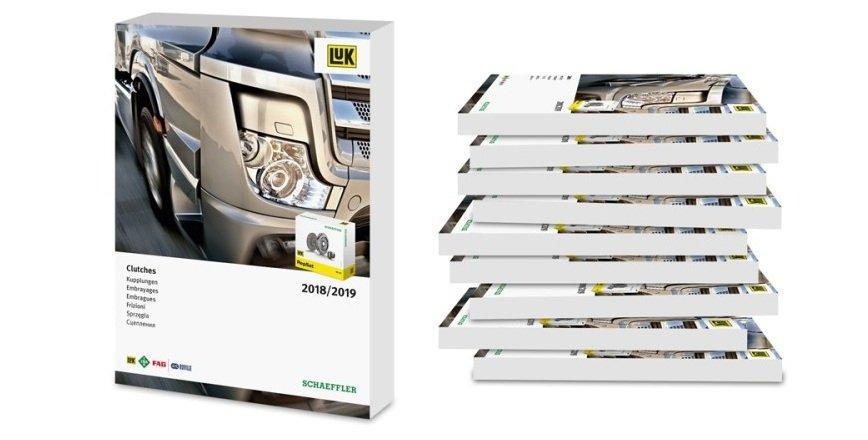 Nowy katalog sprzęgieł dla pojazdów ciężarowych