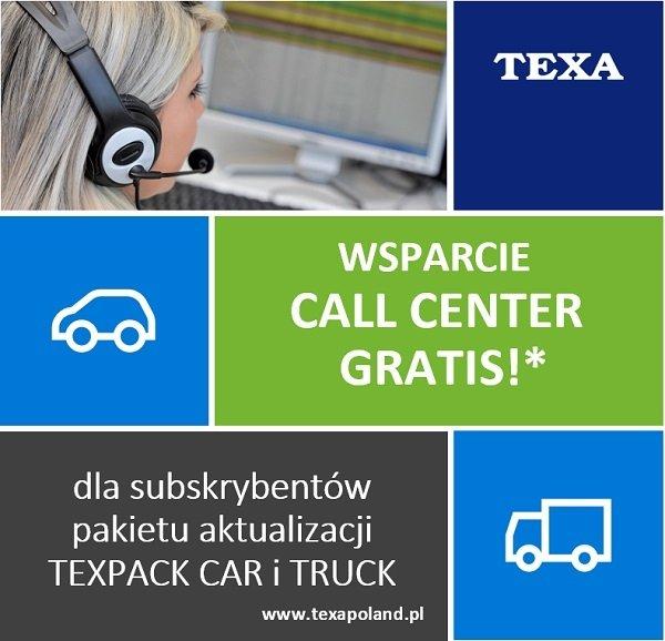 TEXA: promocja na Call Center przedłużona