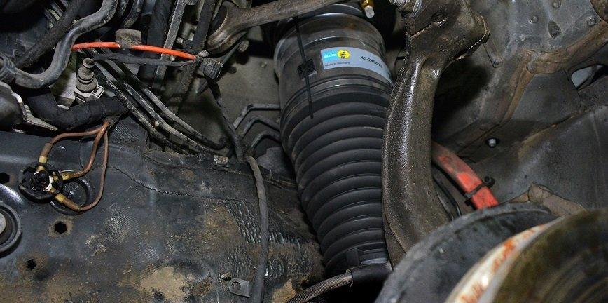 Wskazówki i filmy dotyczące montażu zawieszenia pneumatycznego
