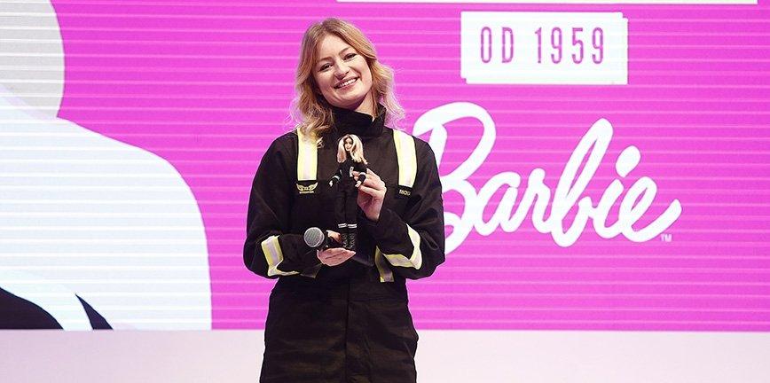 Polską BARBIE SHERO została Iwona Blecharczyk - kierowca zawodowy