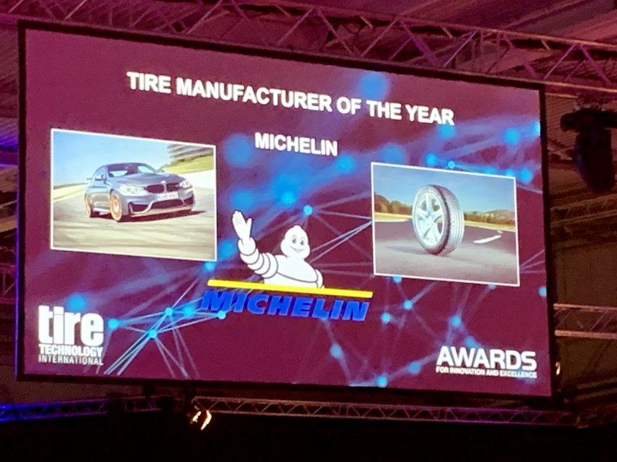 Producentem roku została marka Michelin