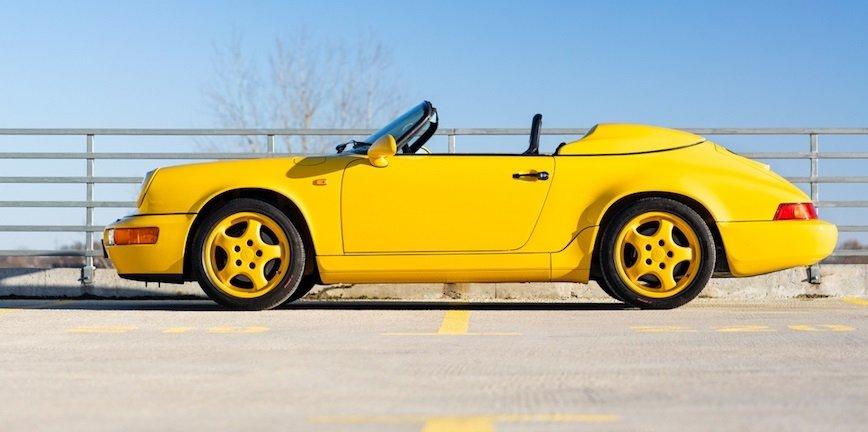 To Porsche 911 Speedster sprzedano za 1,38 mln złotych