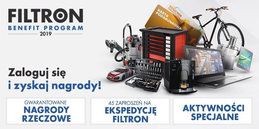 Odbieraj nagrody za zakup filtrów FILTRON