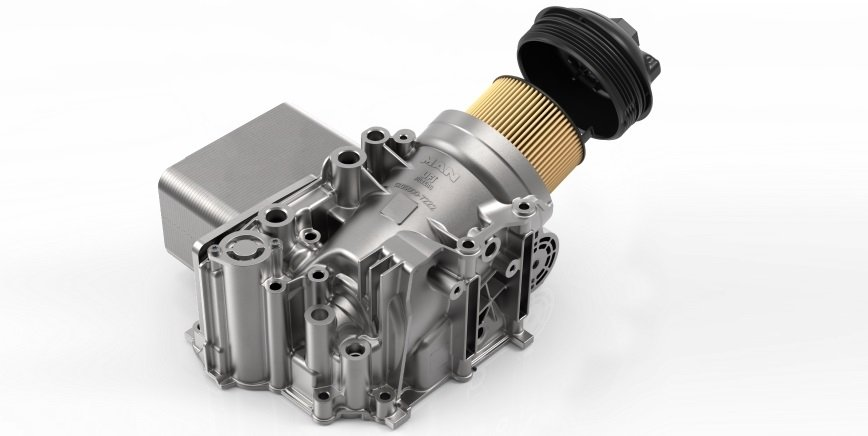 Innowacyjny filtr oleju do silnika MAN D15