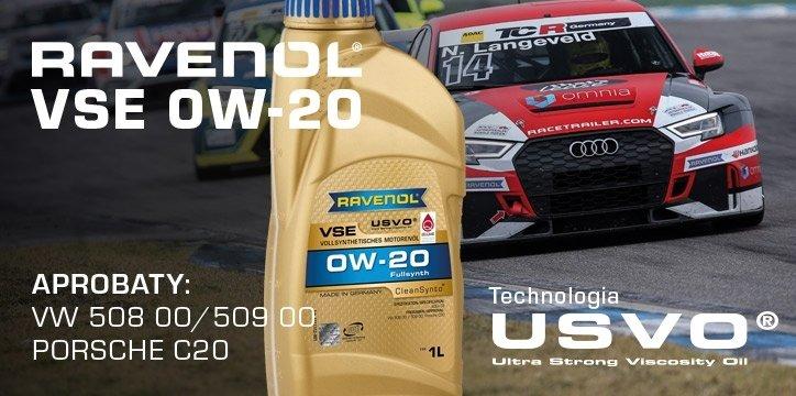 Olejowa nowość: RAVENOL VSE 0W-20