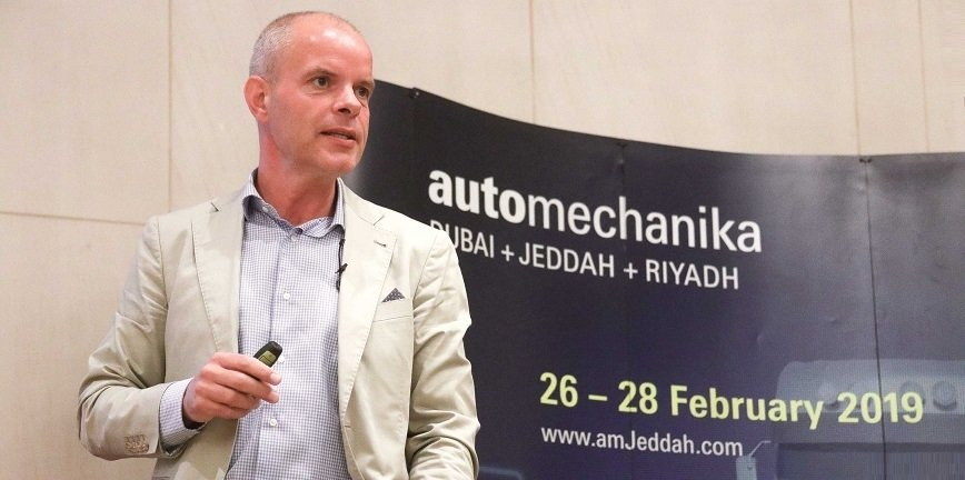 Christophe Vloebergh, CASE Implementation Manager for Mercedes-Benz Cars Middle East