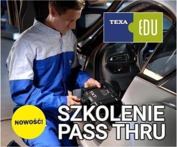 Nowość w TEXA EDU - szkolenie PASS THRU