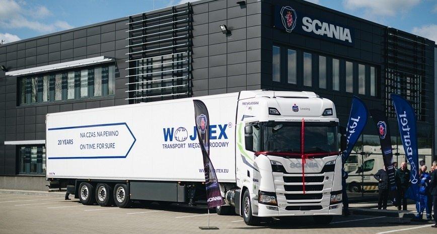 Pierwsza w Polsce Scania LNG do dalekich tras