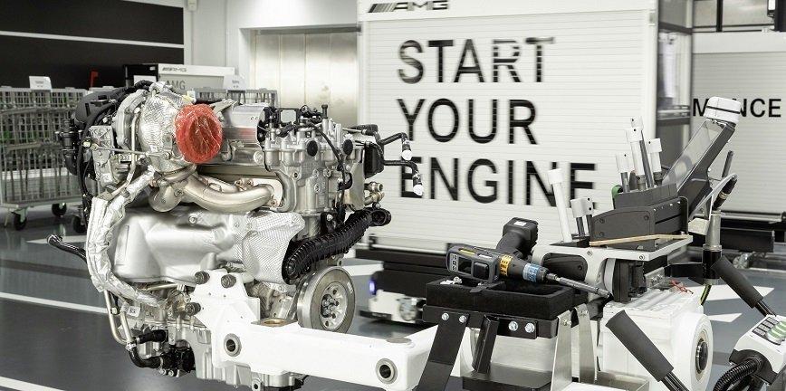 Nowy 4-cylindrowy silnik turbo Mercedes-AMG