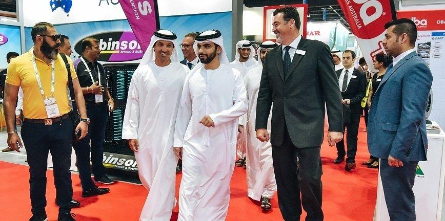 Dubaj: trwają targi z cyklu Automechanika [LIVE]