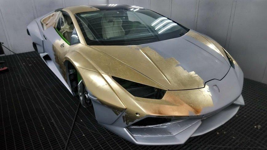 Lamborghini Huracan w rękach polskich lakierników z polskimi produktami!
