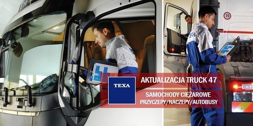 TEXA: aktualizacja TRUCK V47