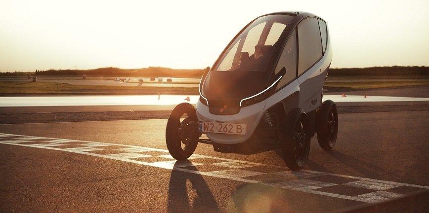 Łódź: testy wytrzymałościowe polskiego pojazdu elektrycznego Triggo