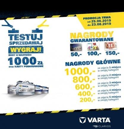 VARTA informuje o promocjach