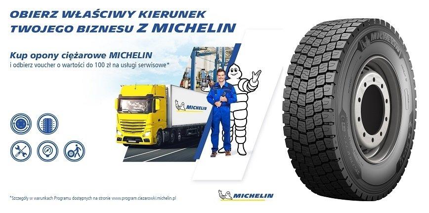 Dobry czas na zakup opon ciężarowych Michelin