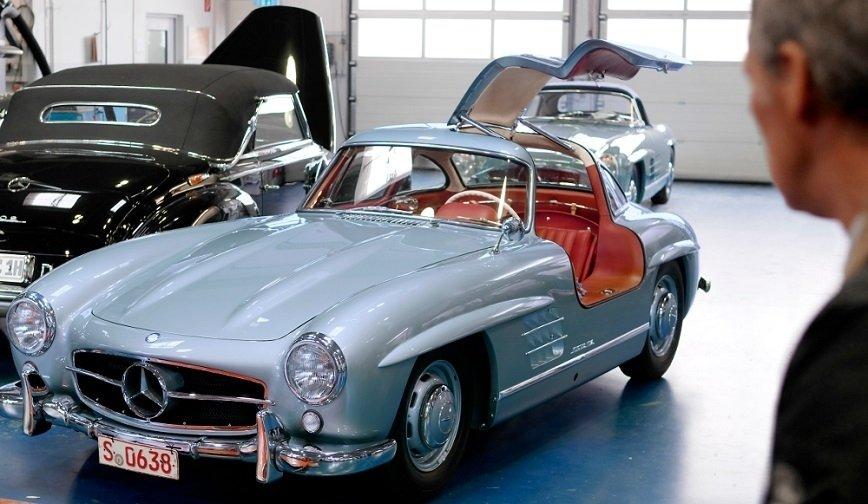 Renowacja pewnego słynnego Mercedesa ...