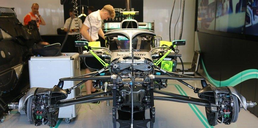 Obciążenia silnika w bolidzie Formuły 1