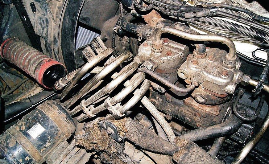 Sprężarka powietrza w ciężarowych układach hamulcowych
