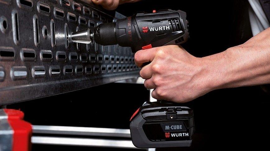 Würth: nowe elektronarzędzia akumulatorowe