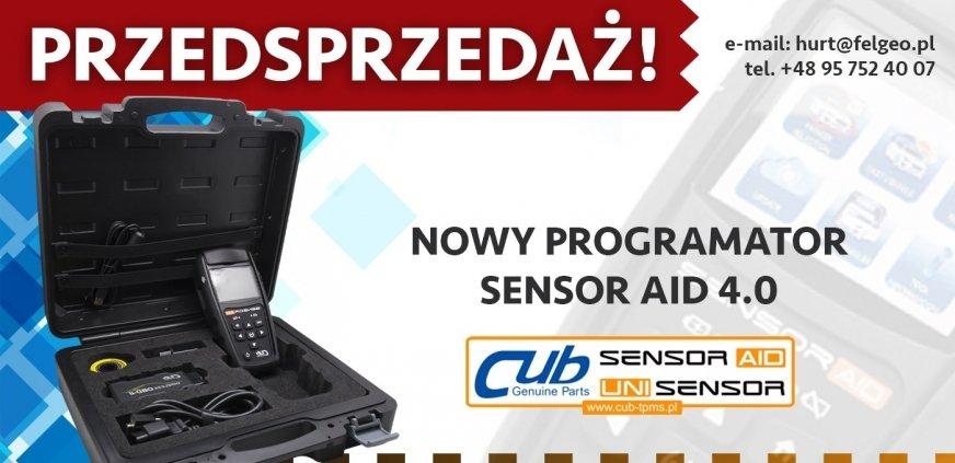 Przedsprzedaż nowego programatora TPMS SENSOR AID 4.0