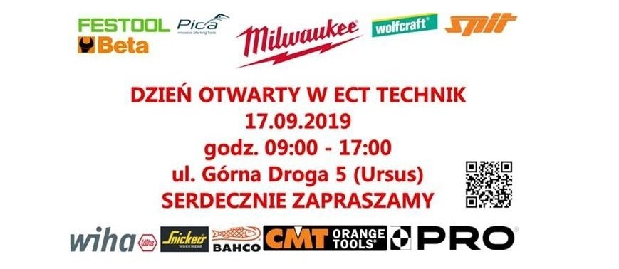 Warszawa: dzień otwarty w ECT Technik