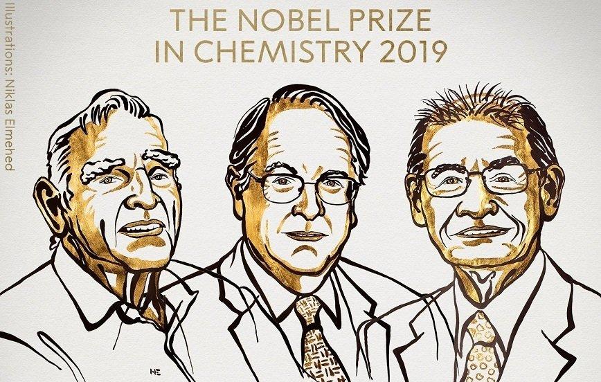 Nagroda Nobla za baterie litowo-jonowe