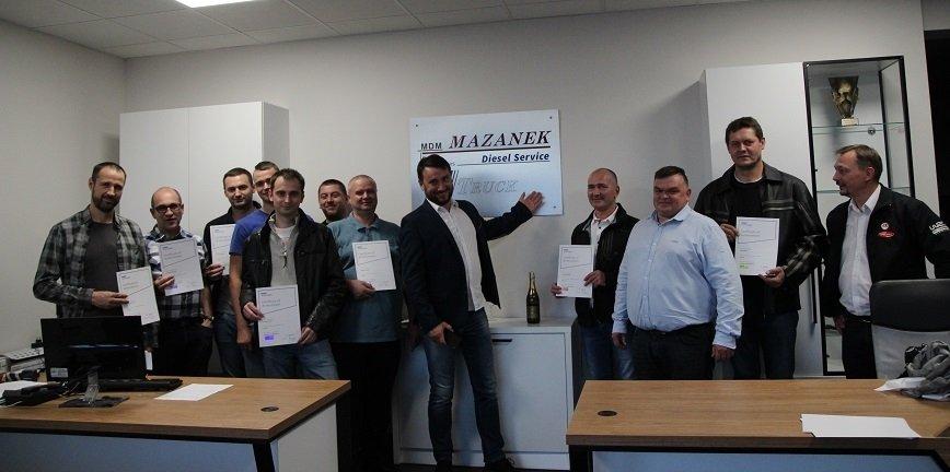 Diesel Service Mazanek (woj. śląskie) gościł partnerów technicznych
