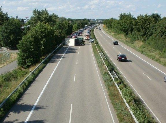 Wypadki na autostradach co cztery kilometry