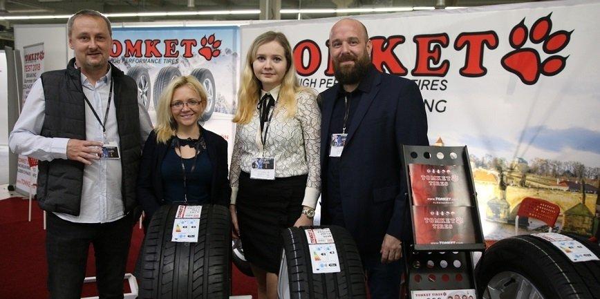Tomket - czeski producent opon z fabrykami w Chinach. Jeden z wielu zagranicznych wystawców Automotive Parts Expo.