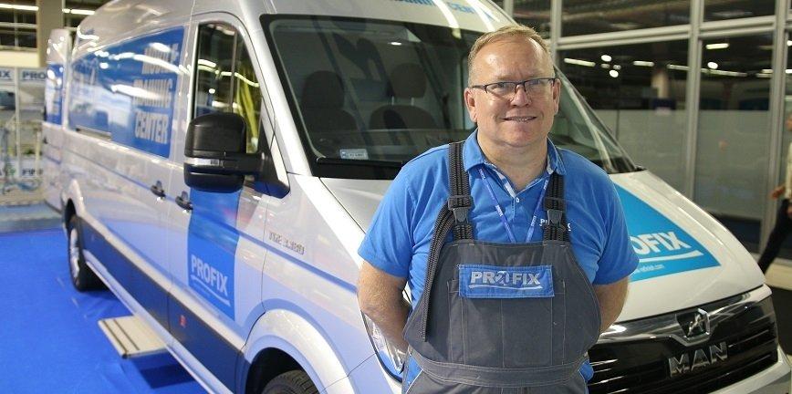 Marek Lemiszewski, kierownik działu szkoleń w firmie Multichem.
