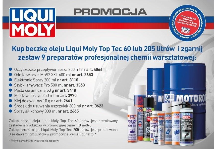 Liqui Moly informuje o promocji