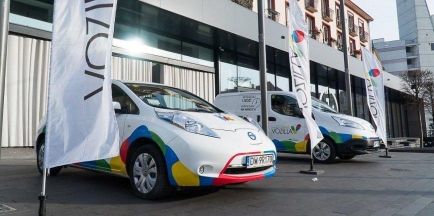 Vozilla, wypożyczalnia aut elektrycznych na minuty, kończy działalność