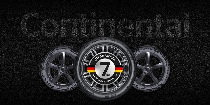 Continental wydłuża gwarancję w Polsce do 7 lat