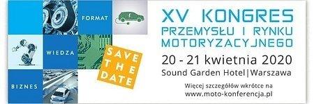 Kongres Przemysłu i Rynku Motoryzacyjnego już w kwietniu